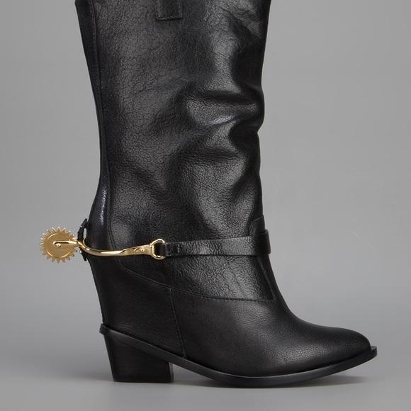 a7efb18b6dbf Giuseppe Zanotti Shoes - Giuseppe Zanotti Spur Cowboy Boots